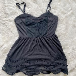 Sheer Aeropostale flowy tank top.